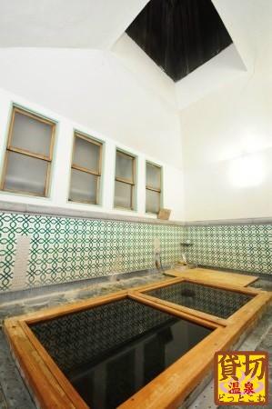 藍の宿 木屋旅館(鳥取・三朝温泉)  貸切ラジウム風呂「楽泉の湯」